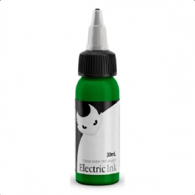 Tinta para tatuagem Electric Ink - Verde Claro 30 ML.