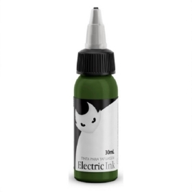 Tinta para tatuagem Electric Ink - Verde Musgo 30 ML.