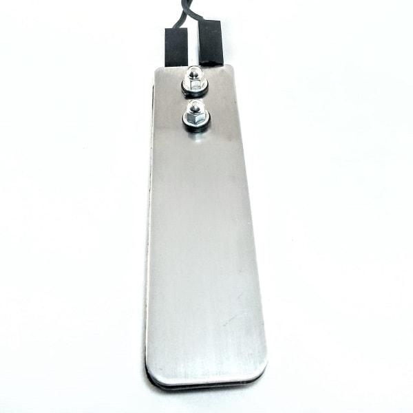 Pedal Aço inox Trestini, ótima qualidade e designer ultrafino.