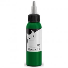Tinta para tatuagem Electric Ink - Verde Folha 60 ML.
