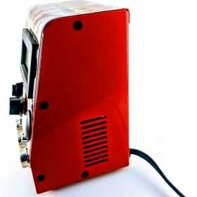 Fonte Digital para tatuagem TTs Power Full Bivolt Automática – 110/220 VAC, saída ajustável 1,5 a 16 VDC – 2,5 Amperes ACA (corrente alternada) com tripla saída em plug´s MK/3, com acionamento via pedal e porta USB lateral – corpredominante do equipament